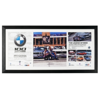 BMW 100 Hertiage Poster Frame