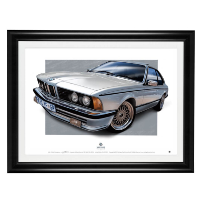 BMW 635CSi Framed