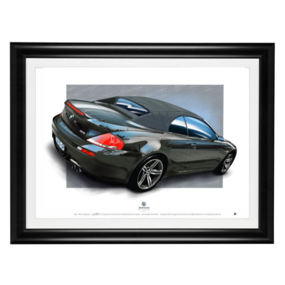 BMW M6 Framed