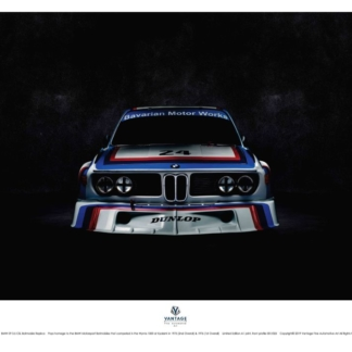 BMW E9 3.5 CSL Batmobile